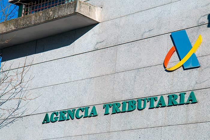 Fachada de las ofcinas de la Agencia Tributaria española, lugar donde se implementó el sistema de facturación SII
