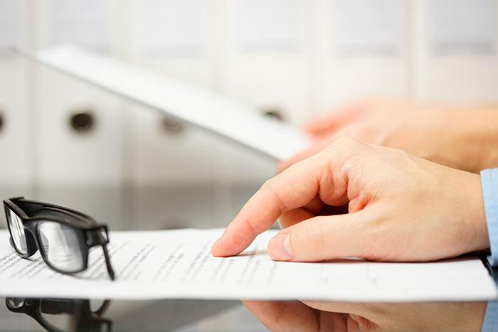Checklist de gestión de gastos por parte de una empresa